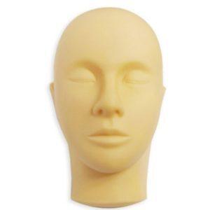 Голова-манекен для наращивания ресниц