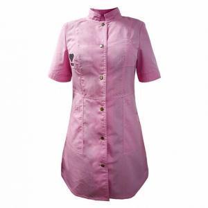 Стильный халат мастера «Lovely» модель №2