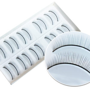 Накладные ресницы тренировочные для манекена (10 пар)