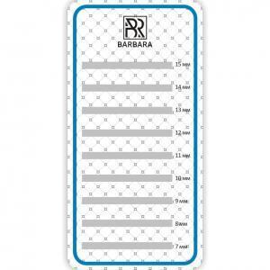 Планшет BARBARA малый для работы с ресницами