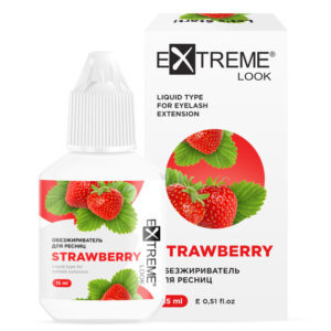 Обезжириватель для ресниц «Strawberry» (клубника) eXtreme look