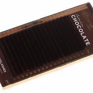 Коричневые ресницы eXtreme look Chocolate Truffle