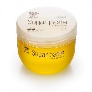 Сахарная паста для депиляции Lovely, 140 гр. (tester)