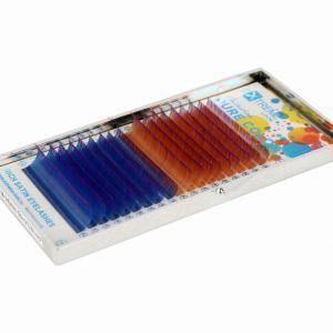 Ресницы с цветными кончиками eXtreme look SET #2 D 0,07 (8-14)