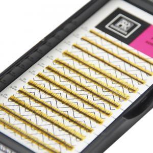 Ресницы Perfect solution готовые пучки 2D 12 линий Barbara