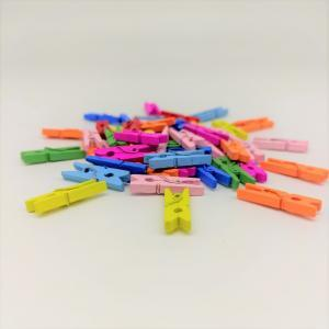 Прищепка мини, 1 шт (цвета в ассортименте)