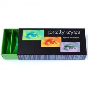Набор валиков Pretty Eyes зеленые (8 пар)