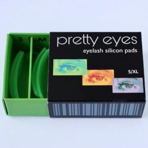 Набор валиков Pretty Eyes зеленые S-XL (4 пары)